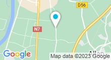 Plan Carte Spa de l'hôtel Manoir le Roure **** à Châteauneuf-du-Rhône