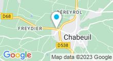 Plan Carte Salle de sport avec piscine Vercors Gym à Chabeuil