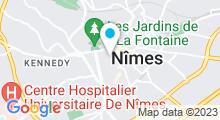 Plan Carte Sunset Sun & Spa à Nîmes