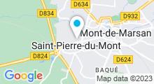 Plan Carte Centre Waterbike à Saint-Pierre-du-Mont