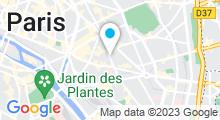 Plan Carte Centre Waterbike Faidherbe à Paris (11ème)