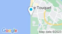 """Plan Carte Thalasso """"Thalassa"""" à Le Touquet"""
