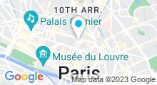 Plan Carte Aqua by Studio Réaumur à Paris (3ème)