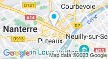 Plan Carte Point Soleil à Paris La Défense à Puteaux