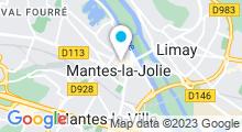 Plan Carte Point Soleil à Mantes la Jolie