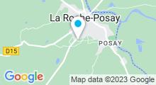 Plan Carte Thermes à La Roche Posay
