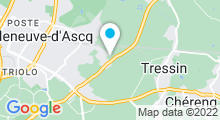 """Plan Carte Spa privatif """"Dans ma bulle"""" à Villeneuve d'Ascq"""