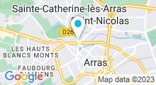 Plan Carte Aquabike & Form à Arras