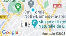Plan Carte Centre aquabike Studiobike à Lille
