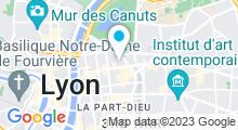 Plan Carte Centre aquabike Mincéna à Lyon (6ème)