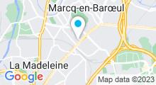 Plan Carte Centre de remise en forme aquatique O'Santéa à Marcq en Baroeul