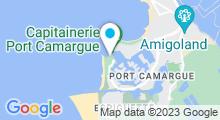 Plan Carte ThalassoThalazur Port Camargue à Le Grau du Roi