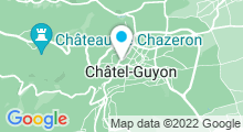 """Plan Carte Centre de remise en forme & spa """"Source d'Equilibre"""" à Châtel-Guyon"""
