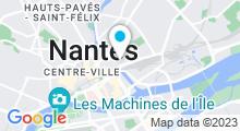 Plan Carte Centre de balnéothérapie & Spa Zen&O à Nantes