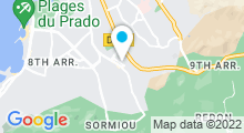 Plan Carte Spa La Villa Zola à Marseille (9ème)
