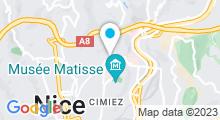 Plan Carte Centre aquabike Spot Bien-Etre à Nice