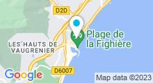 Plan Carte Spa de l'hôtel Thalassoleil à Villeneuve-Loubet