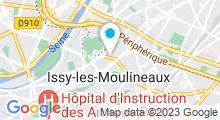 Plan Carte Vitabike Center à Issy-les-Moulineaux