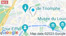 """Plan Carte Spa """"Les bains de Léa"""" à Paris (8ème)"""