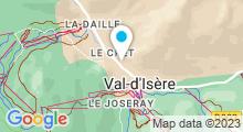 Plan Carte Spa Eden Institut Carita à Val d'Isère