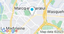 Plan Carte Calme, Luxe & Volupté à Marcq-en-Baroeul