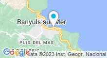 Plan Carte Côté Thalasso à Banyuls-sur-Mer