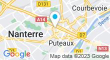 Plan Carte Centre Waterbike La Défense à Paris la Défense