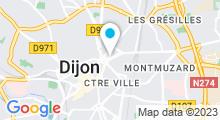 Plan Carte Vitabike Center à Dijon