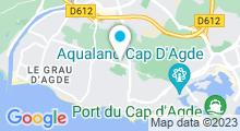Plan Carte Spa Balnéocap au Cap d'Agde