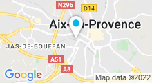 Plan Carte Spa de l'Hôtel Renaissance ***** à Aix en Provence
