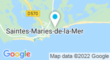 Plan Carte Thalasso Thalacap à Saintes-Maries-de-la-Mer