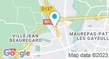 Plan Carte Envido à Rennes / Saint-Grégoire