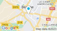 Plan Carte Centre aquabike Aqua B à Beaune