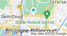 Plan Carte Centre aquabike My Body Bike à Boulogne-Billancourt