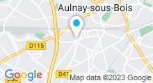 Plan Carte Hayden Spa à Aulnay-sous-Bois