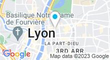 Plan Carte Spa Skin & Sens à Lyon (6ème)