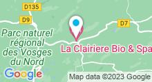 Plan Carte Spa La Clairière à La Petite Pierre