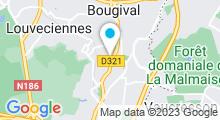 Plan Carte Spa Villa Venezia à La Celle Saint-Cloud