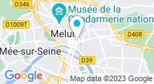 Plan Carte Spa Arômes et Bien-être à Melun