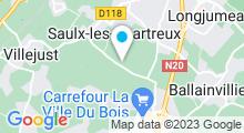 Plan Carte Spa Arômes et Bien-être de Saulx les Chartreux