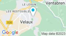 Plan Carte Le Hammam de Velaux à Velaux