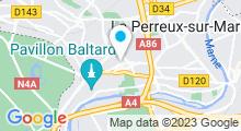 Plan Carte Spa le Galet à Nogent Sur Marne