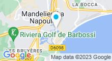 Plan Carte Ô Pure Spa à Mandelieu la Napoule