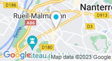 Plan Carte Spa urbain Couleur Sable à Rueil Malmaison
