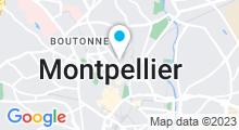 Plan Carte Les Secrets d'Ambre à Montpellier