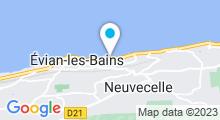 Plan Carte Spa Taaj à Evian-Les-Bains
