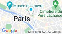 Plan Carte Spa Bulle de Plaisir à Paris (4ème)