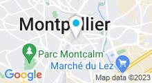 Plan Carte Spa Rosa Bien-être à Montpellier