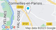 Plan Carte Hammam Sérénité Orientale à Cormeilles en Parisis
