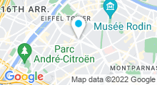 Plan Carte BCBG à Paris (15ème)